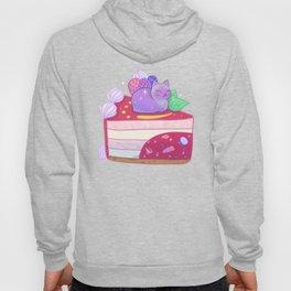Berry Kitty Cake Hoody