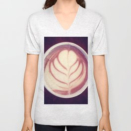 Perfect Touch of Cream Unisex V-Neck