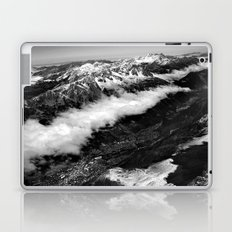 View from Mont Blanc of Chamonix, France. Laptop & iPad Skin
