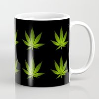 weed Mugs featuring Weed by Spyck