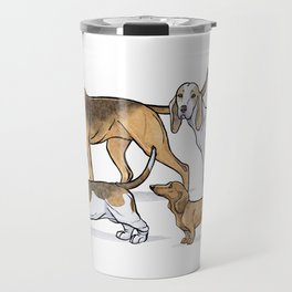 Nosy Scenthounds Travel Mug