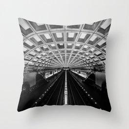 Metro DC Throw Pillow