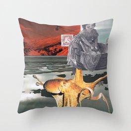 Unconscious mind Throw Pillow