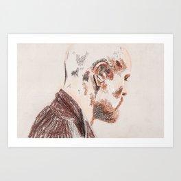 Violent Heart, Tender Soul Art Print