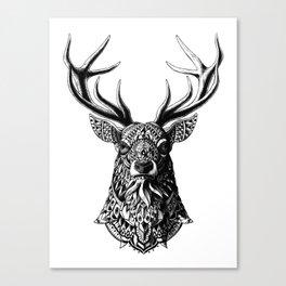 Ornate Buck Canvas Print