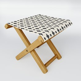 Vintage Jewels - Black Folding Stool