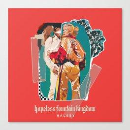 hopeless fountain kingdom Halsey Canvas Print