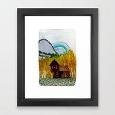 Landscapes / Nr. 3 Framed Art Print