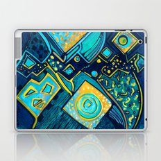 GALAXY SPARKLES BLUE Laptop & iPad Skin