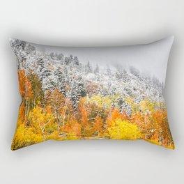 Fall to Winter Rectangular Pillow