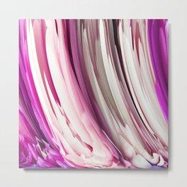 452 - Abstract Petals Design Metal Print