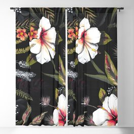 Tropical Night Blackout Curtain