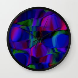 shivering forms Wall Clock