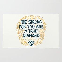 As Strong As A Diamond Rug