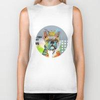 dogs Biker Tanks featuring Dogs... by zAcheR-fineT