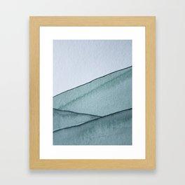 Emerald Hill Framed Art Print