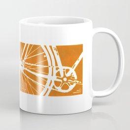 Orange Bike Coffee Mug