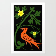Pugin's Birds Art Print