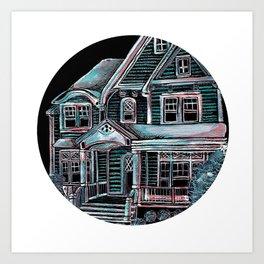 Home, Bright Home Art Print