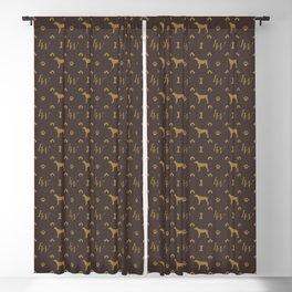 Louis Weim Luxury Dog Attire Blackout Curtain