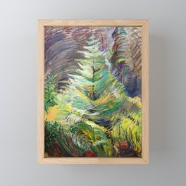 Emily Carr - Heart of the Forest - Canada, Canadian Oil Painting - Group of Seven  Framed Mini Art Print