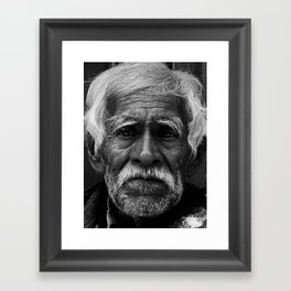 Portrait- Mexican Framed Art Print