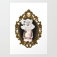 lucy Art Prints featuring Lucy by Cisternas