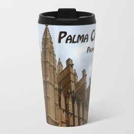 Palma Cathedral Majorca Spain Travel Mug