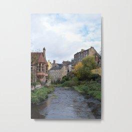 Dean Village in Edinburgh Metal Print