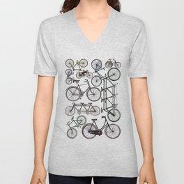 Vintage bicycles Unisex V-Neck