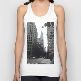 Weekend vibes in New York City - Empire State Building Unisex Tank Top