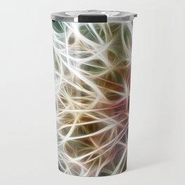 Fractal dandelion Travel Mug