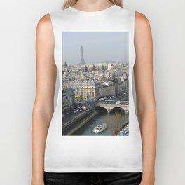 Eiffel Afar Biker Tank