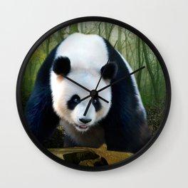 The Giant Panda Wall Clock