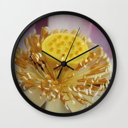 Blossom of Lotos - Lotus Flower Wall Clock