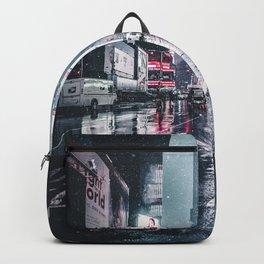 Neon Snowstorm Backpack
