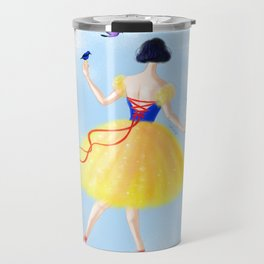 Ballerina Snow Travel Mug