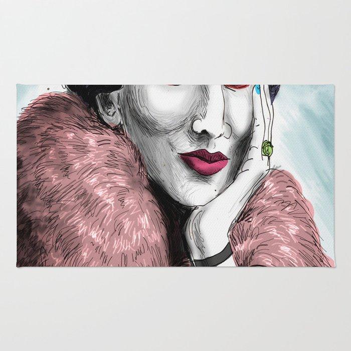 Virginia Woolf Rug