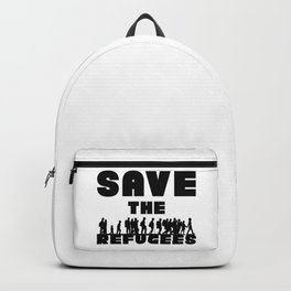 SAVE THE REFUGEES Backpack