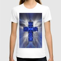 cross T-shirts featuring Cross by Mr D's Abstract Adventures