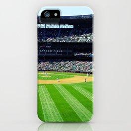 Safeco Field in Seattle Washington - Mariners baseball stadium iPhone Case