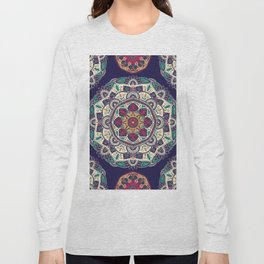 Colorful Mandala Pattern 007 Long Sleeve T-shirt