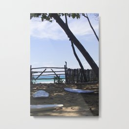 Shaded Surf Boards Metal Print