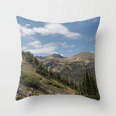 Clark Peak Throw Pillow