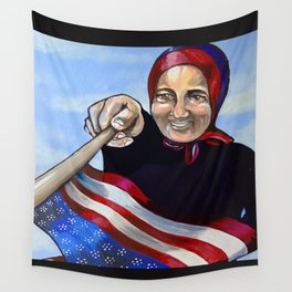 An American socialite, fashion model, and cabaret performer. Wall Tapestry