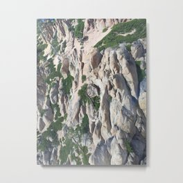 Rugged Sierras II Metal Print