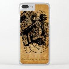 Gospel Machine #1 Clear iPhone Case