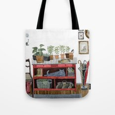 Cozy Entryway Tote Bag