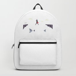 Thin Line Between Success And Failure Backpack