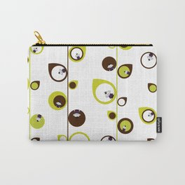 Zombie Matt in the Vines & Leaves Carry-All Pouch